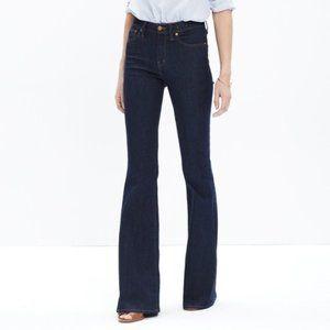 Madewell Flea Market Flare Dark Wash Jeans - Sz 32